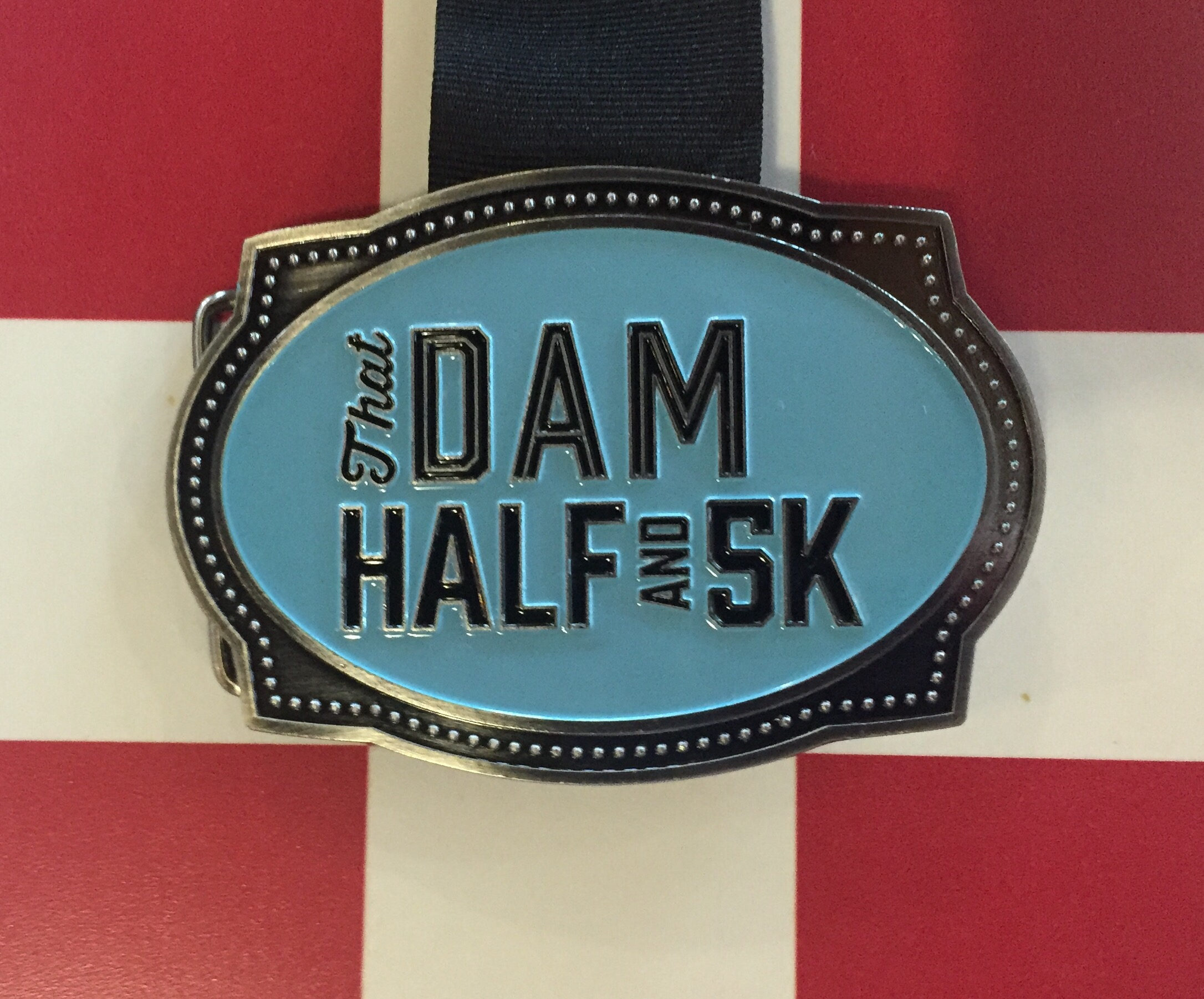 Vegas – Week 12 – Blessed at That Dam Half